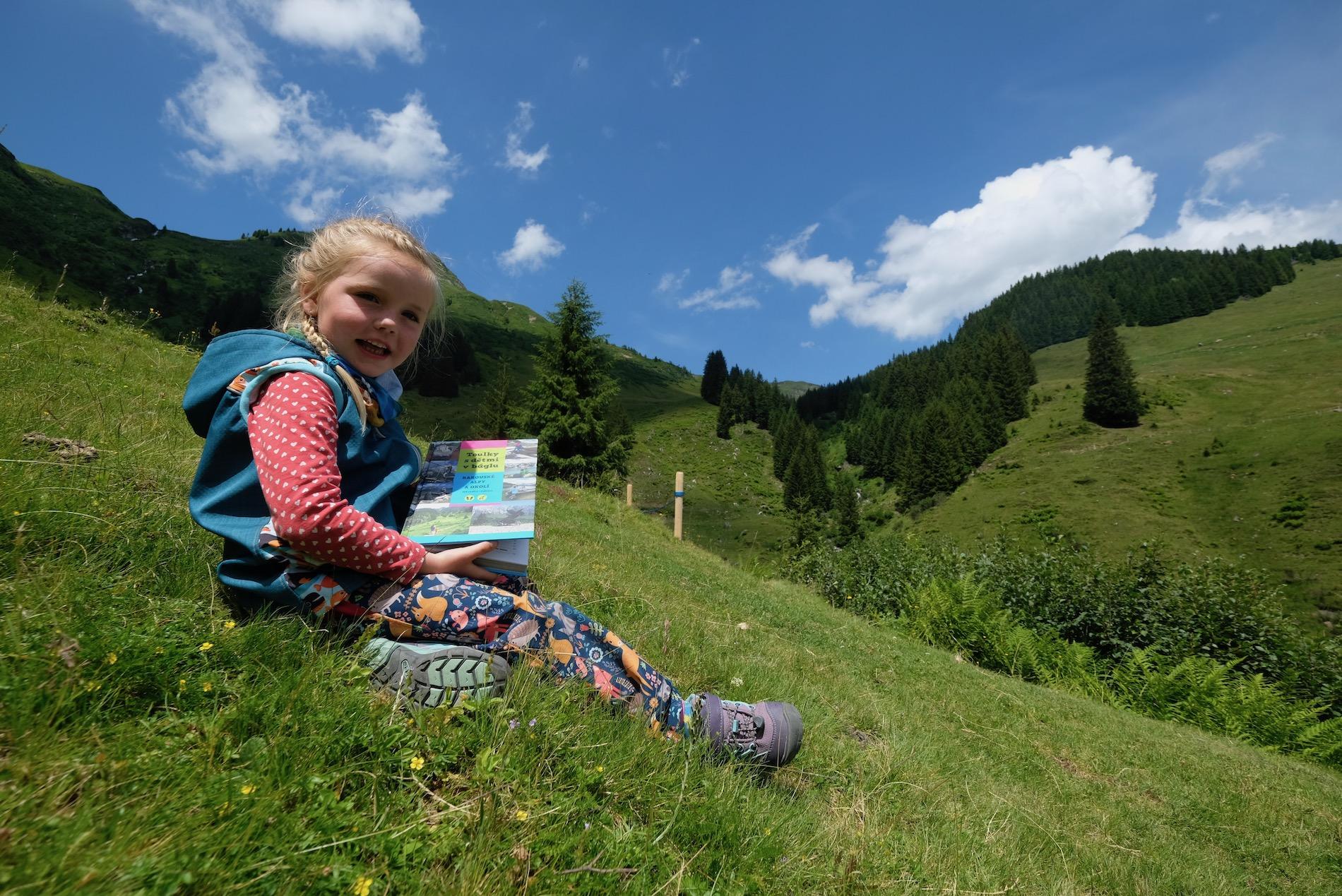 Knižní průvodce: do Alp s dětmi