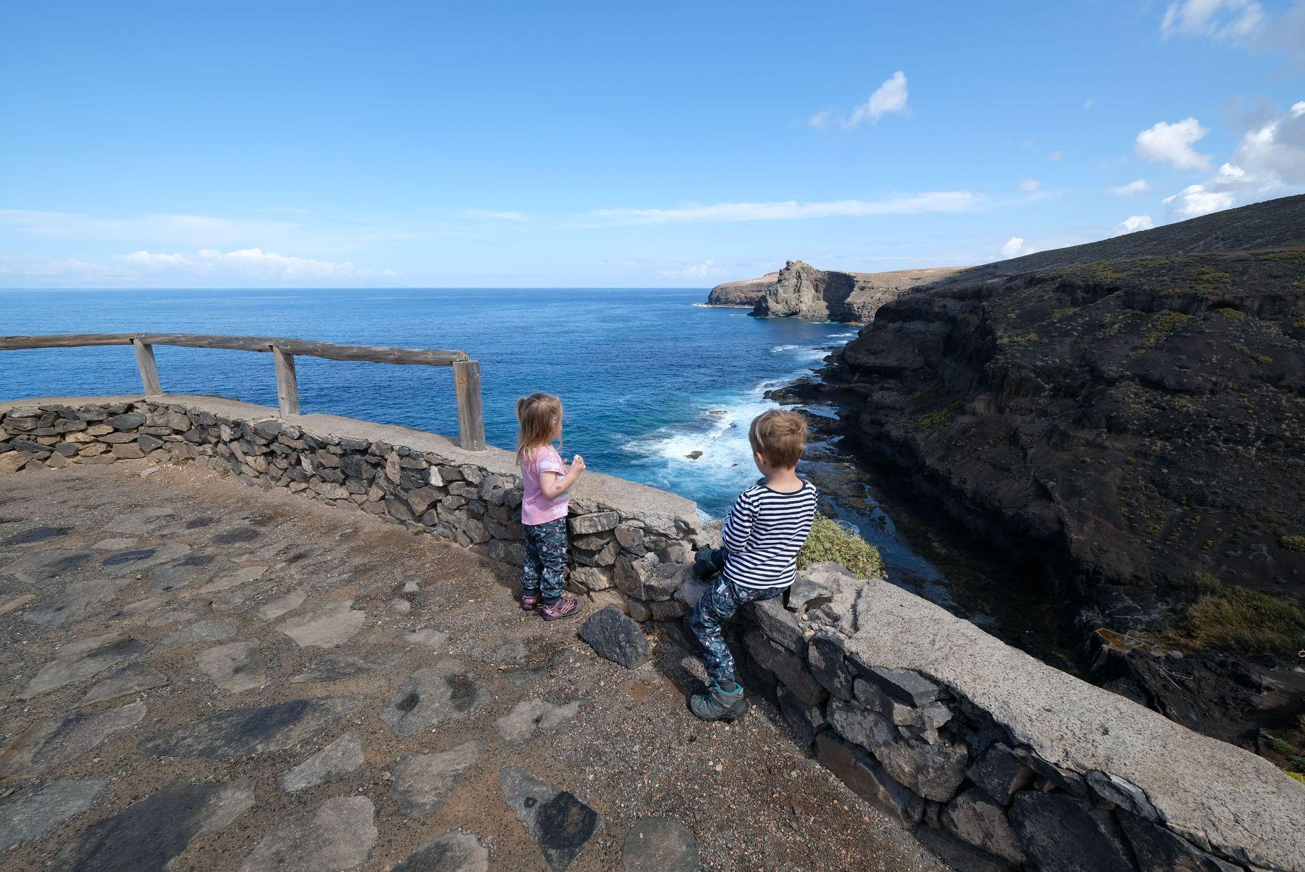 Gran Canaria s dětmi