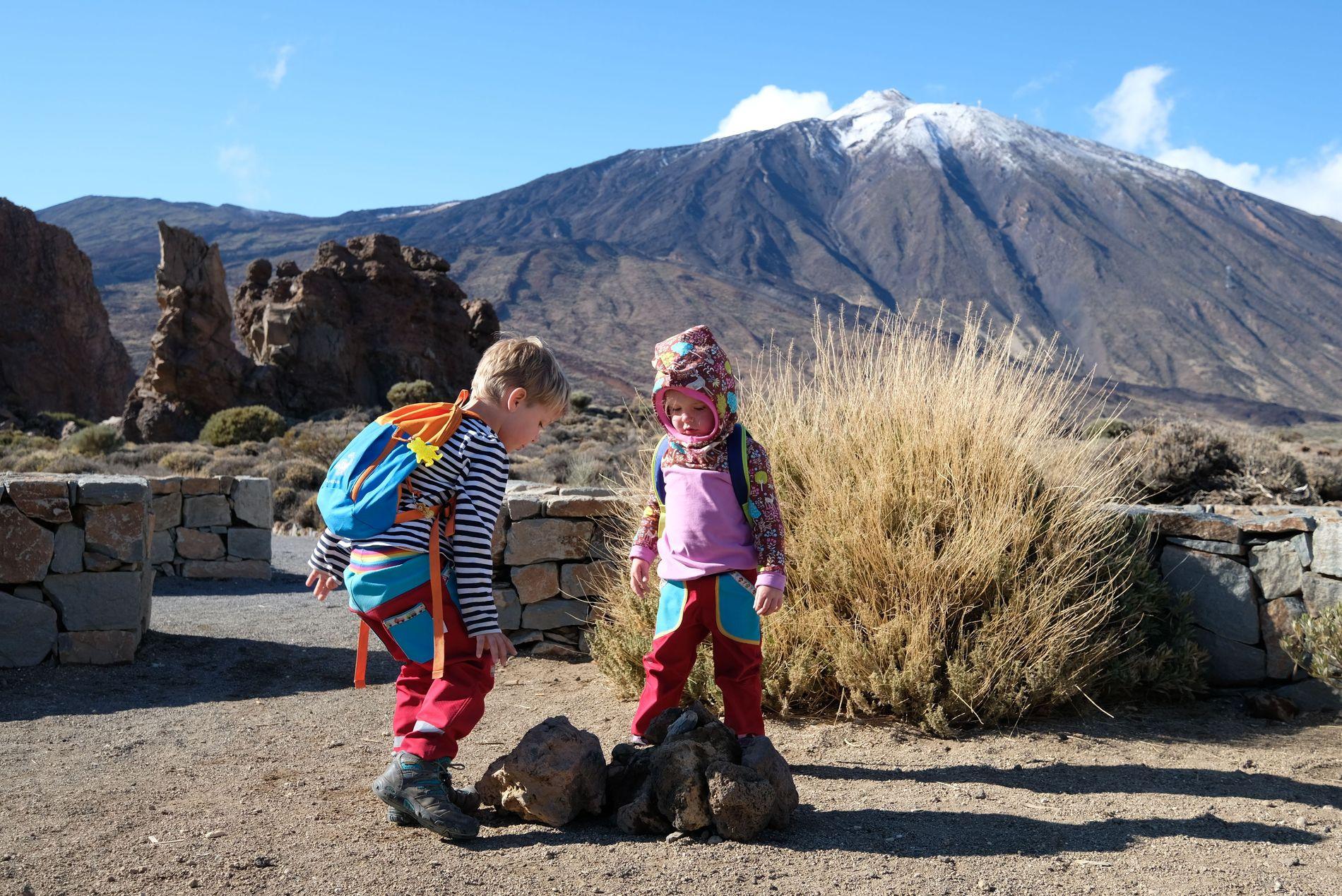 Tenerife s dětmi