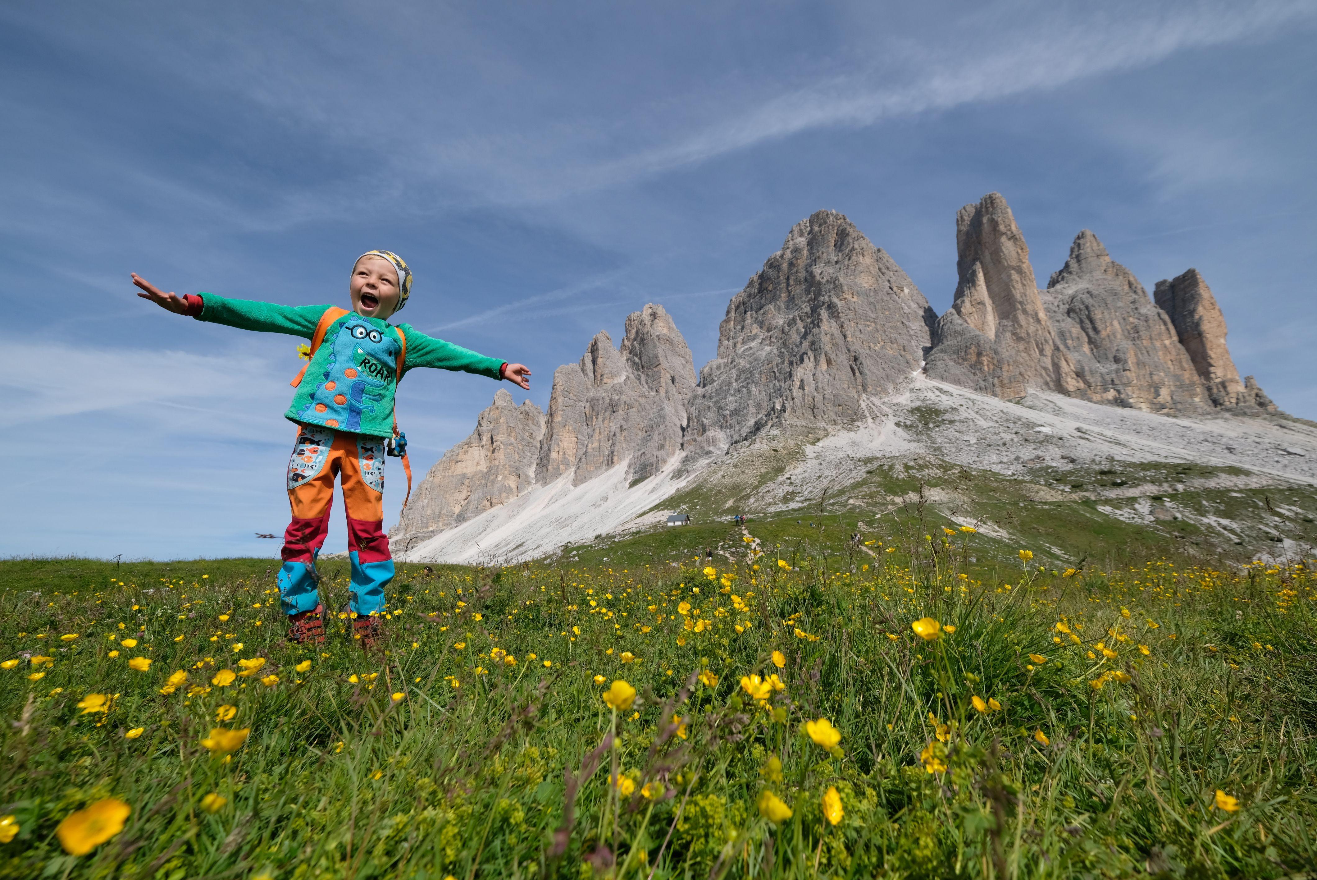 S dětmi do Dolomit…opět