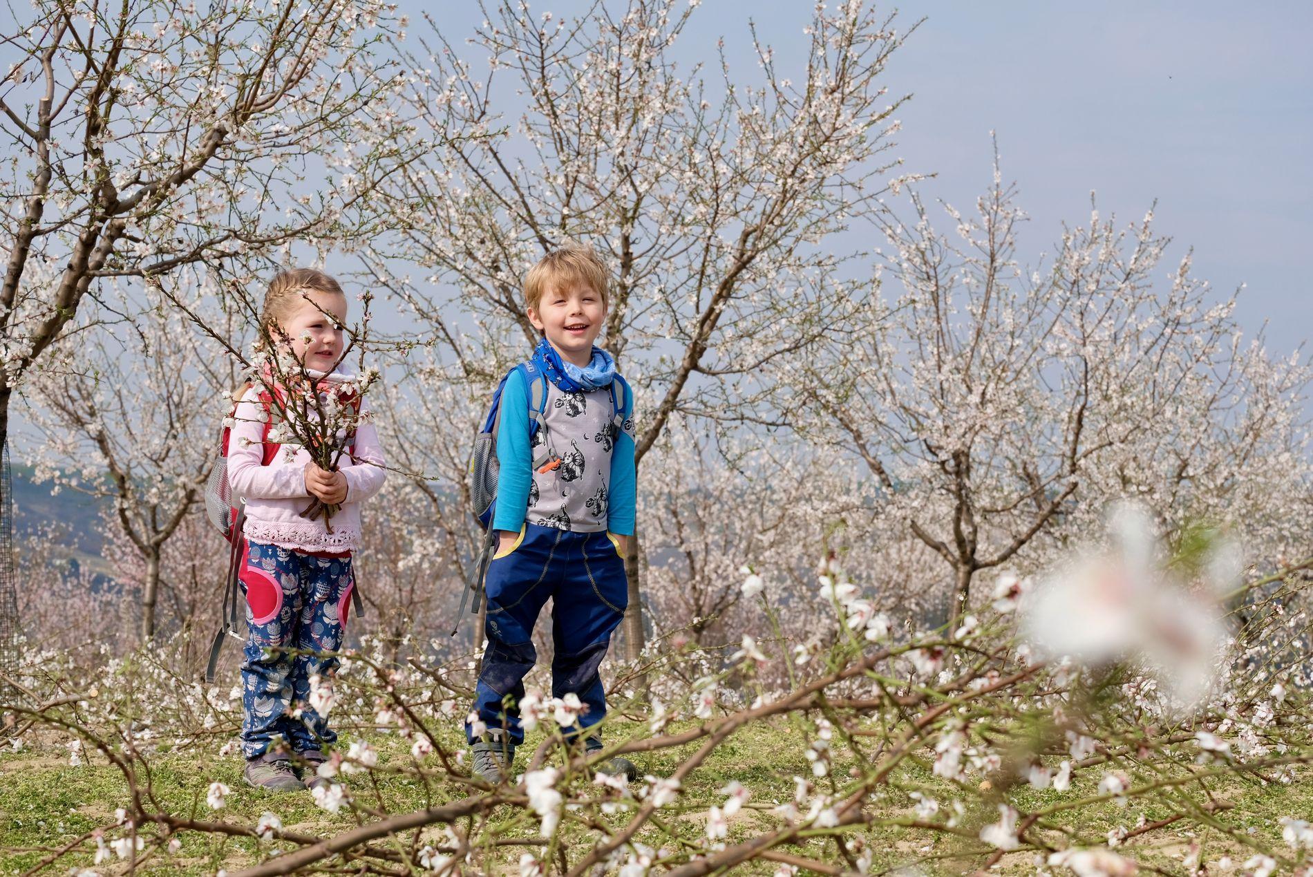 7 jarních výletů s dětmi