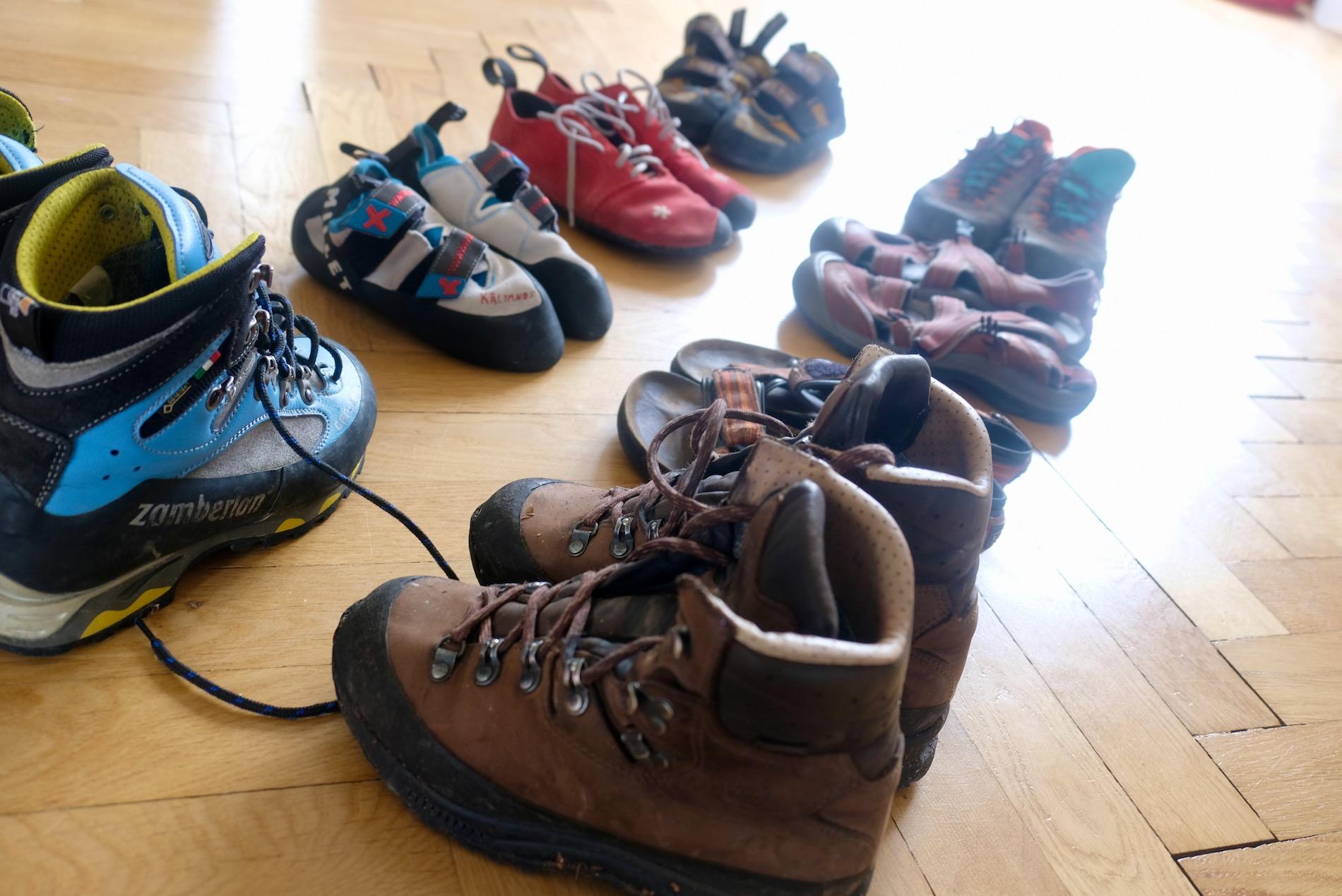 Boty na hory